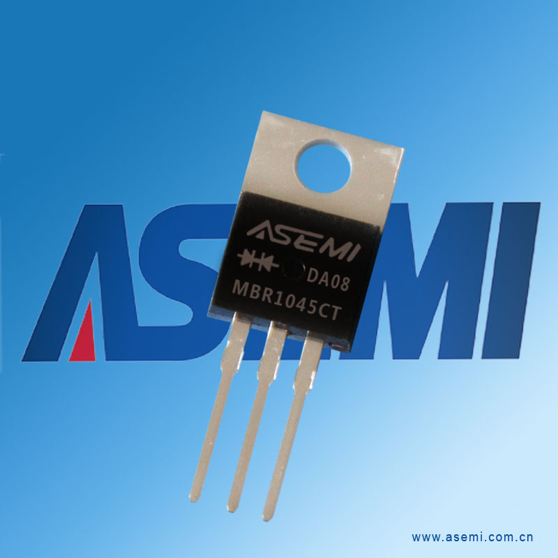 10A 45V MBR1045CT ASEMI品牌
